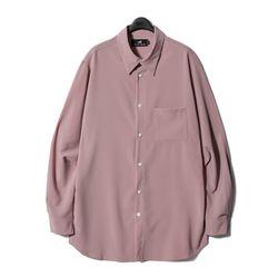 디씬 - 레이온셔츠- 핑크