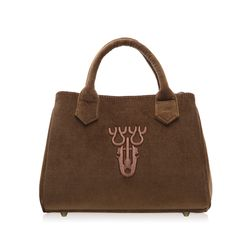 V Fan.C Bag -Brown (S) (V팬시백)