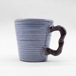 도자기잔 물컵 커피머그컵 세트-퍼플