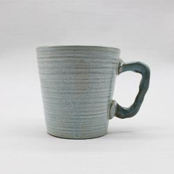 도자기잔 물컵 커피머그컵 세트-민트