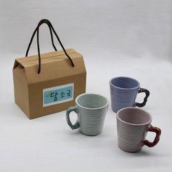 결혼 집들이선물 도자기잔 물컵 커피머그컵 세트(2p)