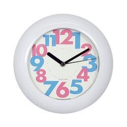 흡착방수욕실시계 Big 핑크블루 그린옐로우