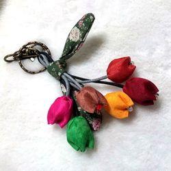 [D.I.Y] 꽃 열쇠고리 백참 만들기
