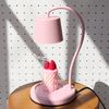 딸기우유 캔들워머(전구포함)+핑크캔들 set