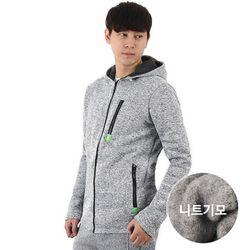 [VENTIV] 남자 기모 니트 상의 트레이닝복 집업