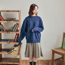 퐁듀 울 스웨터