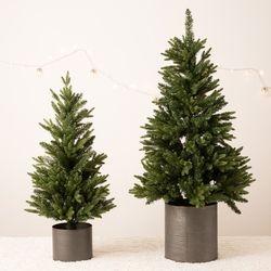 크리스마스 베이직 틴트리 90cm 트리단품