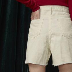 dully corduroy half pants