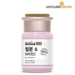 메이준뉴트리 철분 비타민C 1병