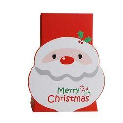 [대용량] 크리스마스상자-산타입체 100개