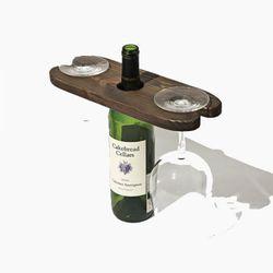 원목 와인 거치대