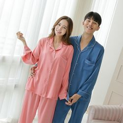 쁘띠쁘랑로얄블링블링 커플잠옷