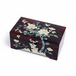 6치한지1단목단보석함 외국인선물 한국기념품 판촉물