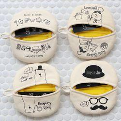 니코트 캔버스 주방장갑 (4design)