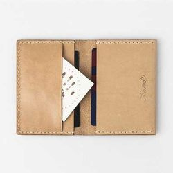 Second file H card wallet Natural