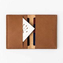 Second file H card wallet Dakota (brown)