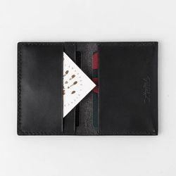 Second file H card wallet Dakota (black)