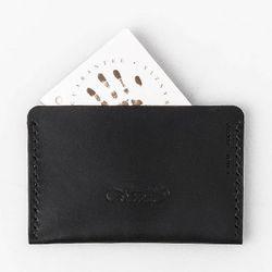Second file S card wallet Black