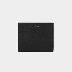 [밍크퍼키링 증정] Reims M501 Half Wallet black
