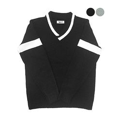 Wool Tennis Sweater (2color)(unisex)