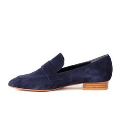 1835 Navy Loafer