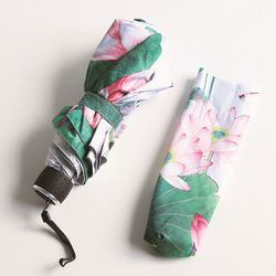 다양한 스타일의 3단우산