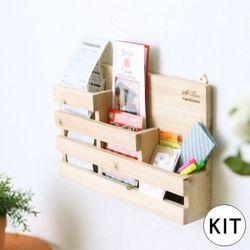 [048] 스탭 벽걸이 수납함 만들기 DIY