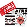YOLO sticker 욜로 스티커