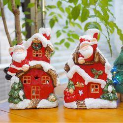 산타 하우스 캔들홀더