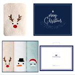 루돌프+눈사람+산타 3매선물세트(쇼핑백) 답례품