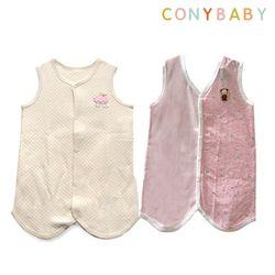 [무료배송/선물박스증정] [CONY]오가닉사계절수면조끼2종세트