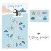 fishing penguin
