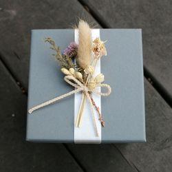 드라이플라워-선물상자(소)