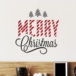 그래픽 스티커 카페 크리스마스 no.1  [소형-DIY제품]