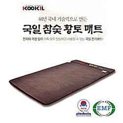 참숯황토 웰빙 싱글 전기매트 KI-460