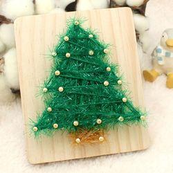 [~12/25까지] [스트링액자(소) 만들기] 크리스마스 트리