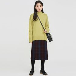 lime tree angora wool knit