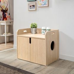 퍼피노 펫블리 고양이 화장실(소) bs024