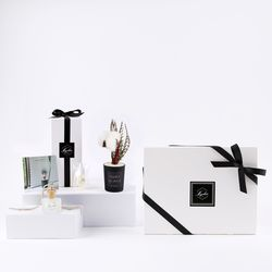 [선물세트] 웜코튼+시스루차량용방향제SET