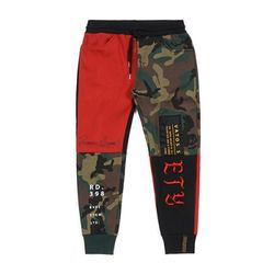 STIGMA COMBINE HEAVY SWEAT JOGGER PANTS RED