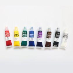 섬유전용물감 FABRIC ART COLOR 8색 세트 15ml