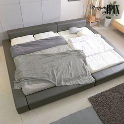 지브리 저상형 패밀리 침대 Q Q  매트별도