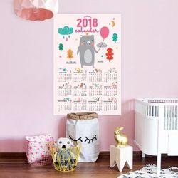 퍼니즈 2018 포스터캘린더 (풍선곰) A3 벽걸이달력