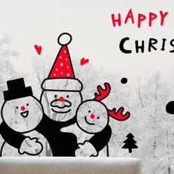 cm721-혼자가아닌겨울크리스마스스티커