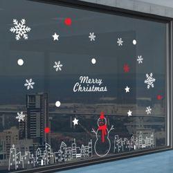 ic242-귀여운눈사람크리스마스스티커