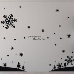 ph314-눈내린크리스마스크리스마스스티커