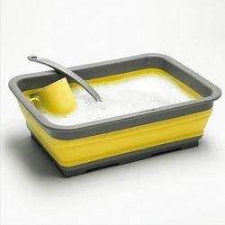 아웃웰 콜랩스 실리콘 접이식 설거지상자