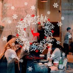 크리스마스스티커 모음 눈꽃 트리 사슴 리스