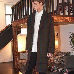Crump over-fit classic check coat (CO0010-2)