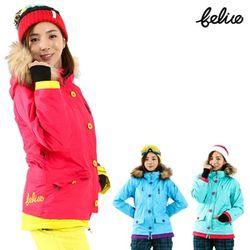 [펠리체] 릴리 패딩 스키보드복 자켓 여성용 슬림핏